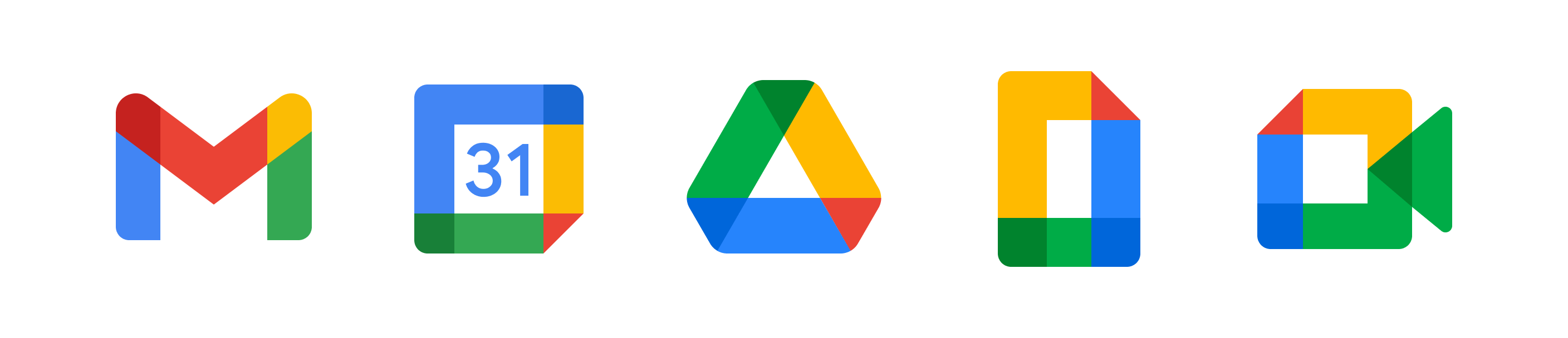 Google Workspace applications