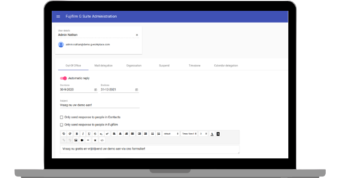 Google Workspace Administration App preview